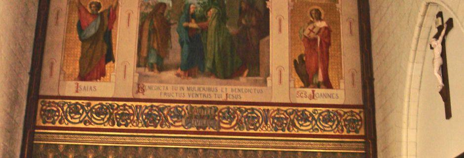A Nantes du 6 au 7 avril 2013 - Couvent de la Visitation et Paroisse Ste Madeleine.