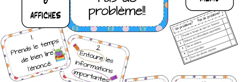 Mathématiques: Un problème? Pas de problème!