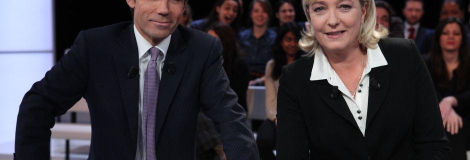 Audiences : Beau score pour Marine Le Pen, TF1 résiste