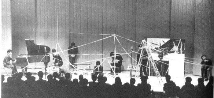 Concert Sogetsu Hall @ Toshi Ichiyanagi. 1961