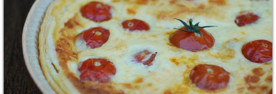 Tarte Thon - Mozzarella - Tomate