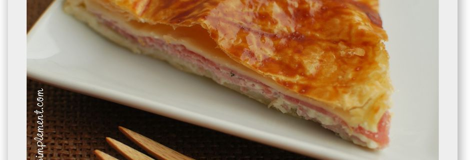 Tourte Jambon - Fromage aux Herbes