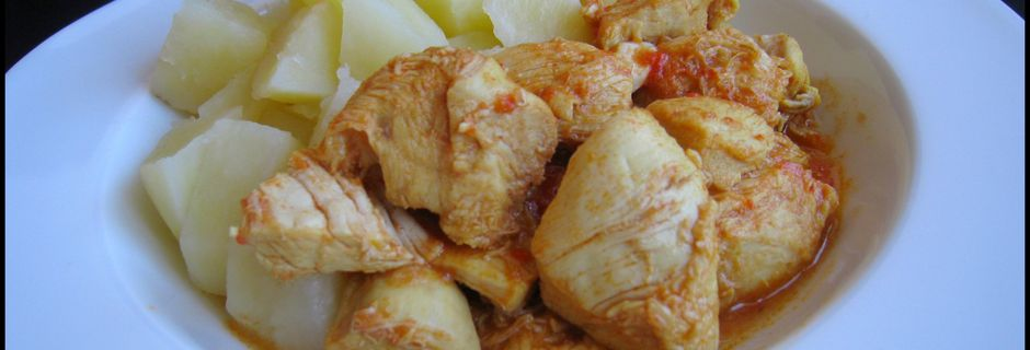 Poulet au curry (thermomix)