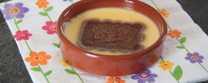 Pots de crème à la vanille et au Speculoos