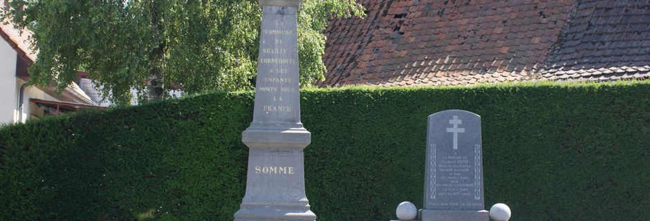BRAILLY-CORNEHOTTE: son monument aux morts