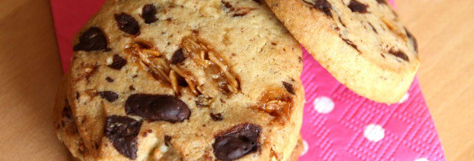 Les Cookies de NY (& de Melle Banane) Nougatine & Chocolat