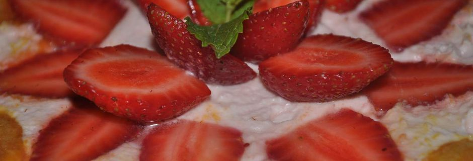 Charlotte aux Fraises- Strawberries again!