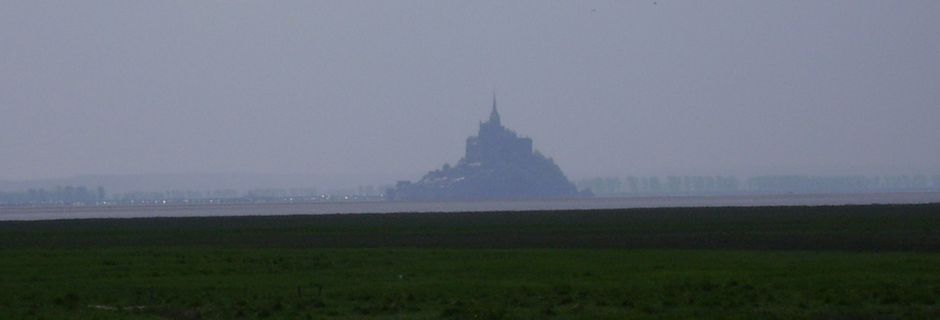 Point de vue sur le Mont Saint Michel
