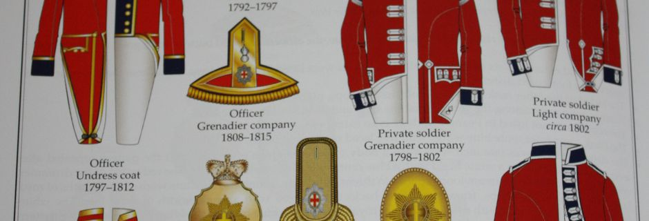 Le Coldstream regiment of foot guard