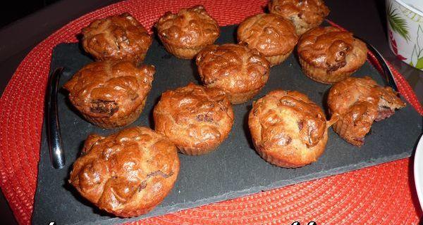 Mini cakes saucisson noix