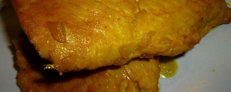 Blancs de poulet confits à l'orange et au safran...