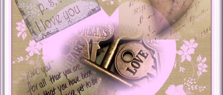 Prière pour la St Valentin, lettre a mon amour