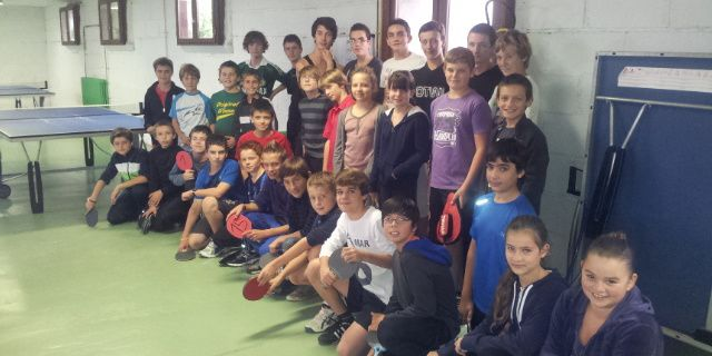 Une AS tennis de table qui cartonne!