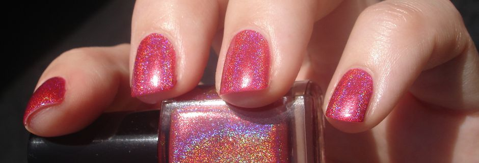 Glitter Gal - 3D Holographic - Not Another Red