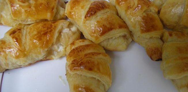 Croissants lardons oignons
