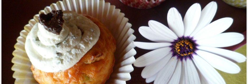 Cupcakes salés au fromage