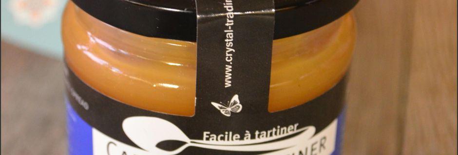 Sapin feuilleté au Caramel à Tartiner et partenaire Crystal