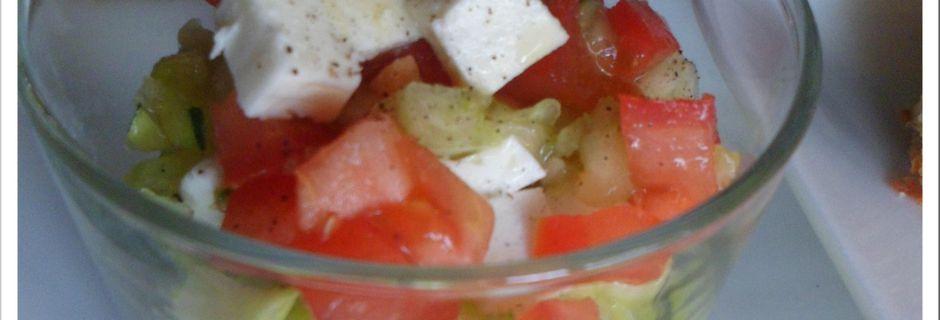 Ma salade fraîcheur