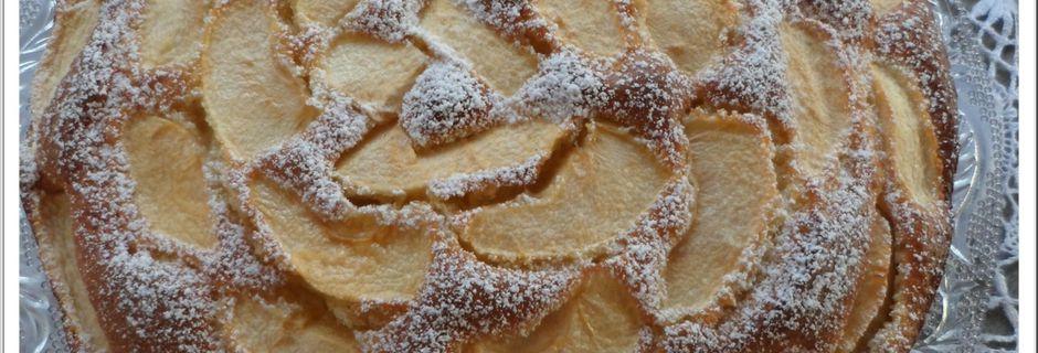 Gâteau pommes mascarpone de Sorawel