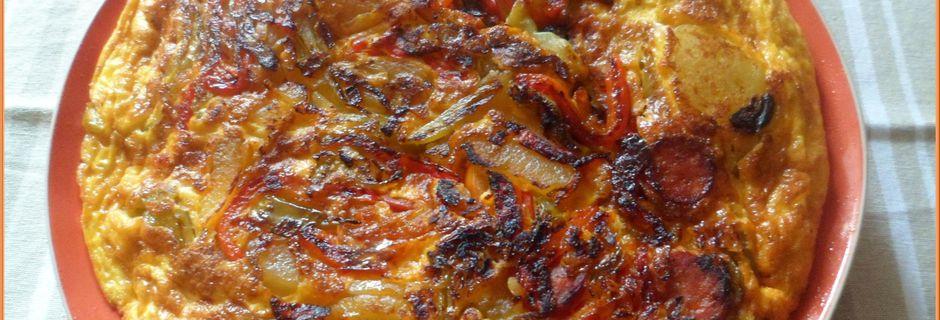 Tortilla à la catalane