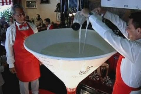 Le plus grand daiquiri du monde