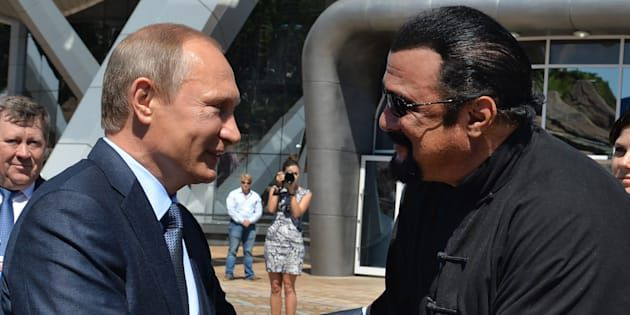 Steven Seagal a reçu la nationalité Russe