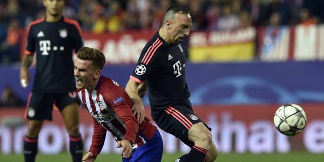 """Pour Franck Ribéry, Antoine Griezmann n'est pas un joueur de """"classe mondiale"""""""