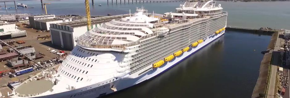 """Harmony of the Seas"", plus long que la Tour Eiffel, est une véritable ville flottante"