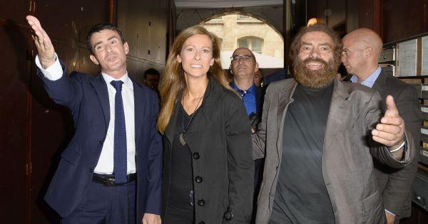 Manuel Valls et Anne Gravoin : Un Nouvel An juif complice et convivial