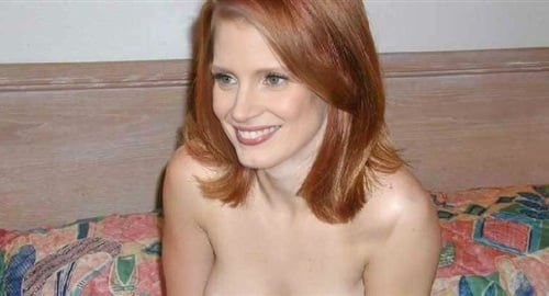 Photos : Jessica Chastain Nude Photo Released Before Oscars