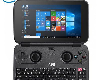 GPD WIN PC Game Console with Intel Cherry Trail X7-Z8750 Quad Core 1.6GHz, up to 2.4GHz