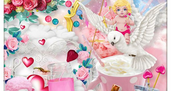"""""""CUPID IN THE LAND OF SWEETS"""" de Kittyscrap"""
