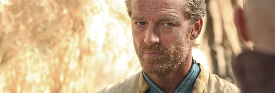 """Game of Thrones"": l'acteur Iain Glen qui incarne Jorah Mormont est en vacances en Charente"
