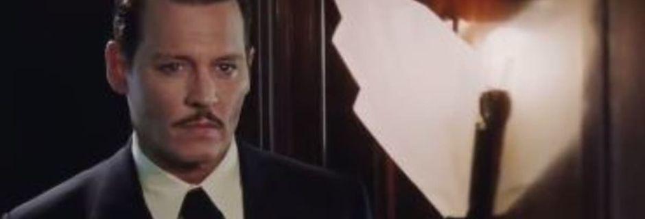 """""""Le Crime de l'Orient-Express"""" d'Agatha Christie adapté au cinéma avec Johnny Depp, ça donne ça"""