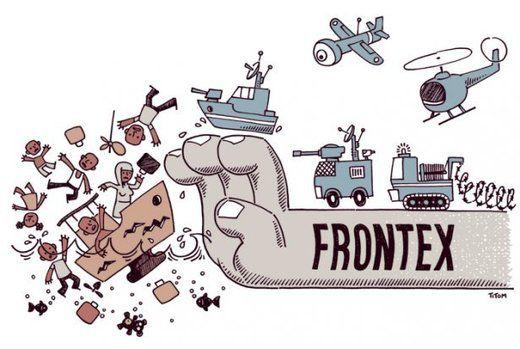 Frontex : les nouveaux « gardes » d'une Europe qui ne veut pas de réfugiés