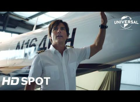 Y-a-t-il un pilote dans l'avion? Barry Seal Tom Cruise bande-annonce