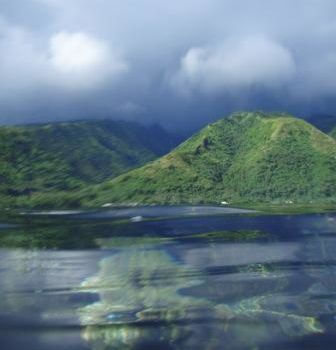 Lagon de tahiti Papara