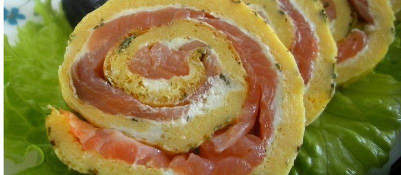 Roulés saumon & boursin