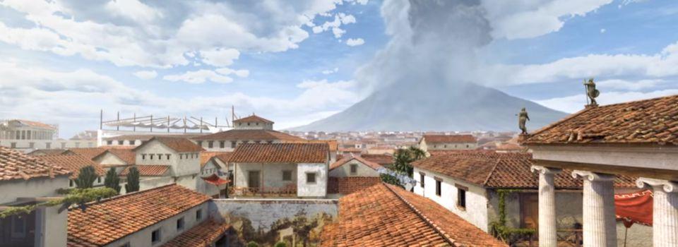 Revivez les dernières heures de Pompéi en vidéo