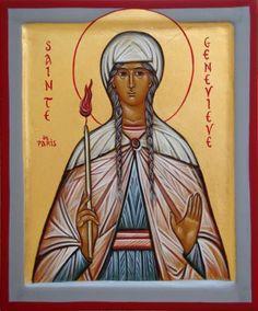 03 janvier la fête de sainte Geneviève de Paris