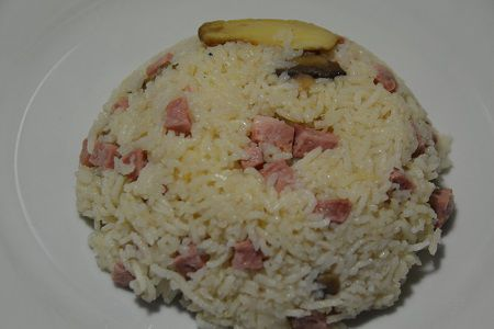 Risotto jambon cookeo weight watchers
