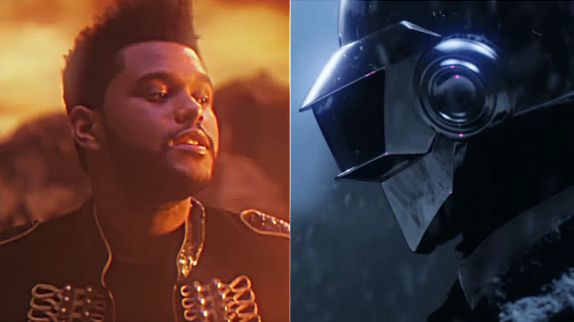 "Clip ""I Feel It Coming"" : The Weeknd et Daft Punk sur une autre planète"
