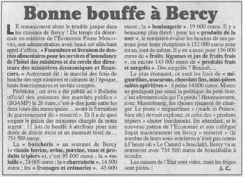 Bercy veut ouvrir de nouveaux secteurs à la concurrence