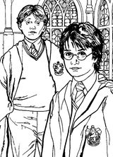 coloriages Harry Potter