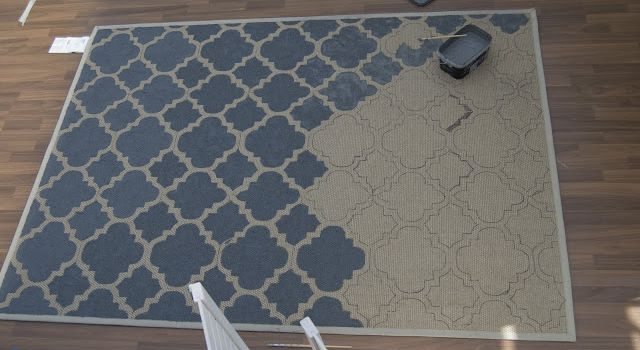 relooker un tapis sisal ou jonc de mer (tutoriel gratuit - DIY)