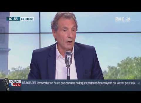 Jean-Jacques Bourdin s'emporte et menace en direct de quitter RMC
