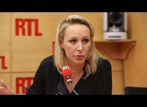 Marion Maréchal-Le Pen, invitée de RTL, jeudi 27 avril