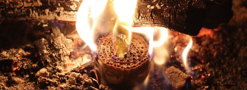 allume feu, camping ou cheminée (tutoriel gratuit - DIY)