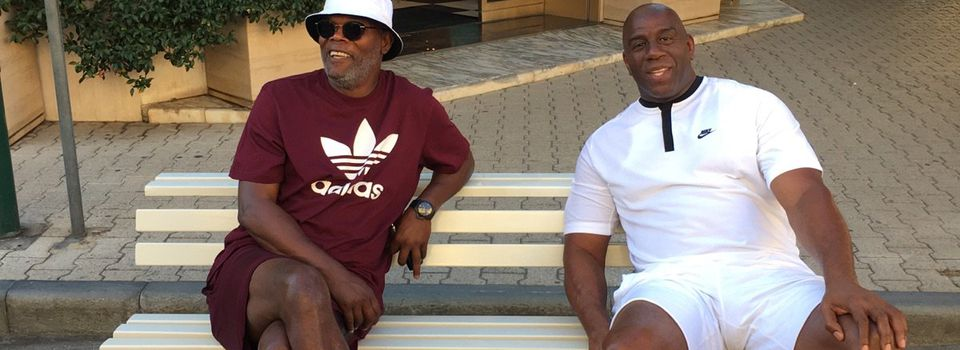 Samuel L. Jackson et Magic Johnson pris pour des migrants dépensiers en Italie