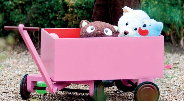 petit chariot de bois (tutoriel gratuit - DIY)
